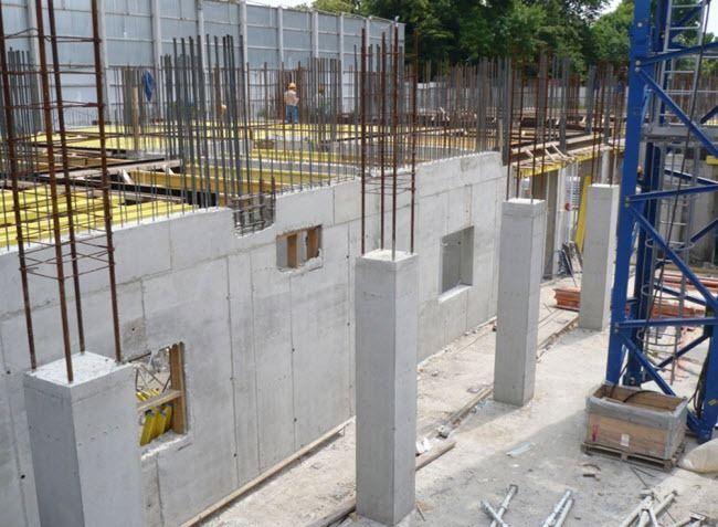 Бетонирование конструкций
