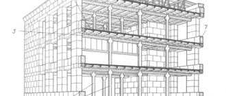 Монтаж многоэтажных промышленных зданий
