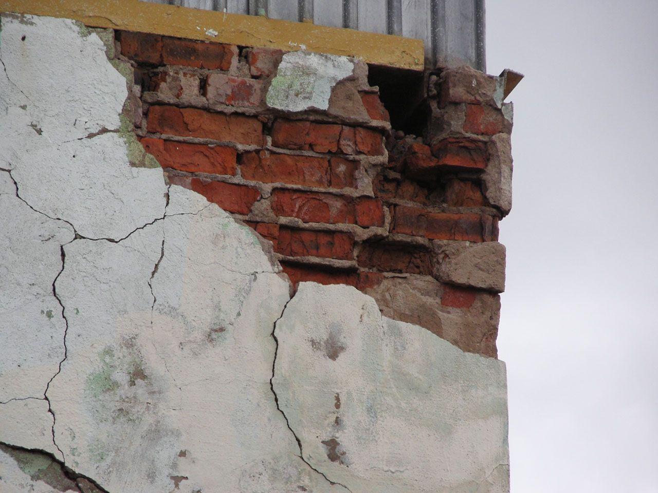 Оценка состояния каменных конструкций