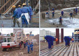 Трудовые ресурсы на строительстве