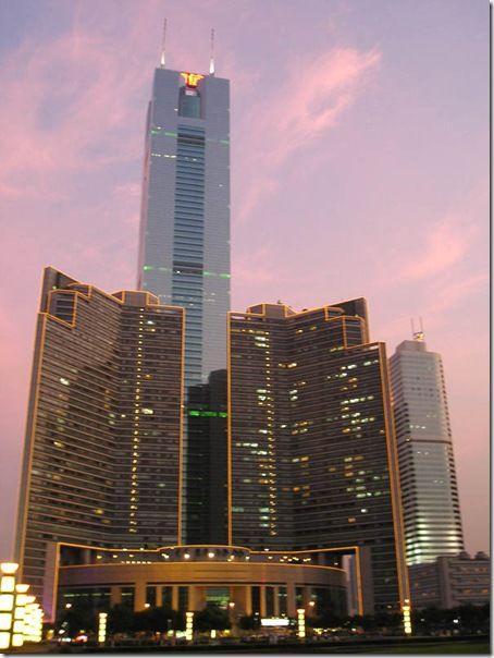 самое высокое здание в мире с использованием трубобетона