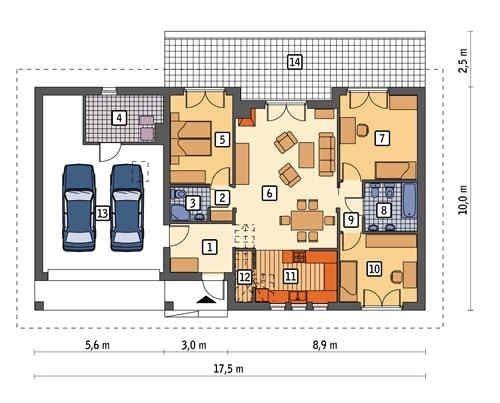 Принципы планировки жилого дома