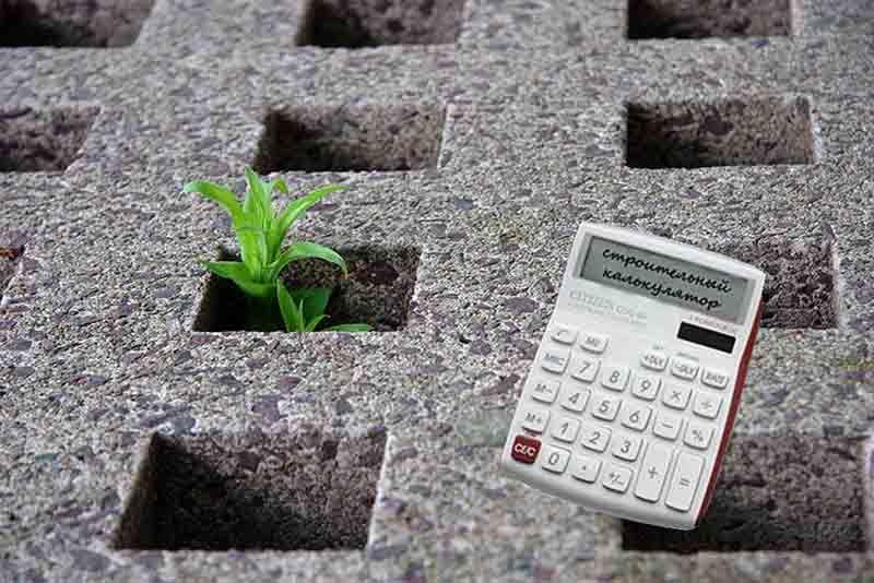 калькулятор бетона