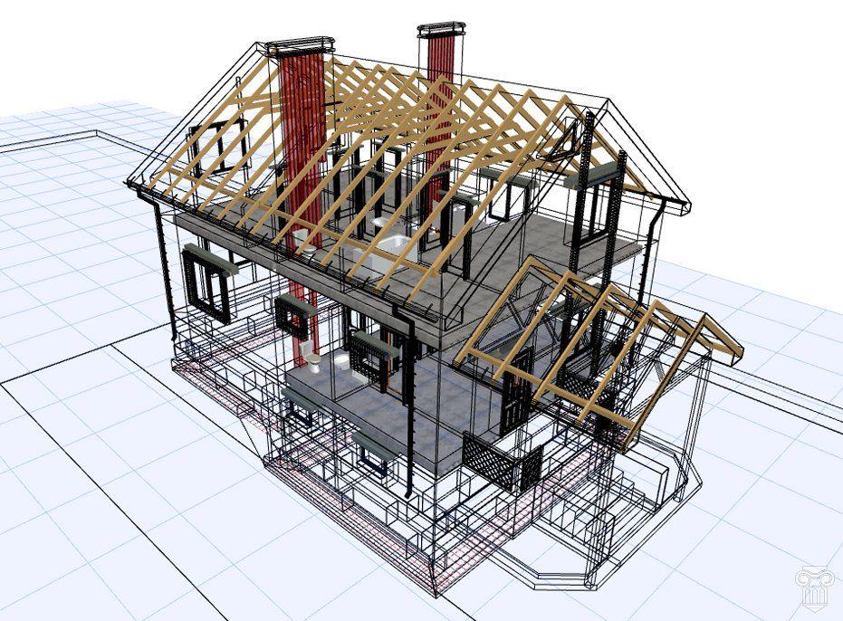 конструктивные элементы жилого дома