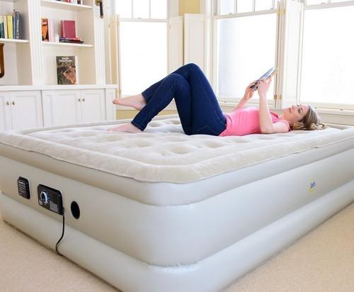 Дополнительное место для сна – 5 советов по выбору надувного матраса