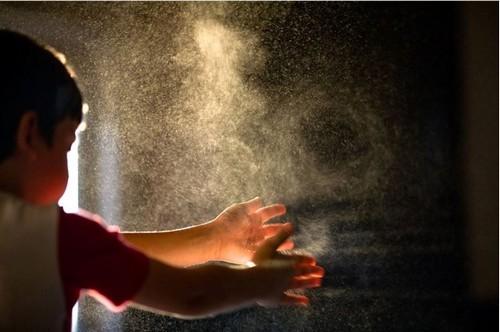 пыль в дачном домике