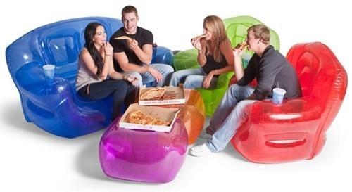 надувная дачная мебель
