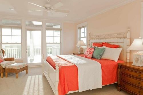 персиковая спальня