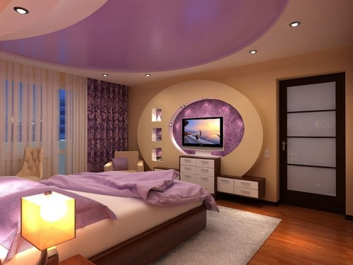 комната в персиковых тонах